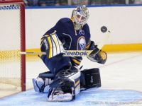 Jhonas Enroth is also an undersized goalie that made it to the NHL. Will Juuse Saros follow in his footsteps? (Micheline/SynergyMax)