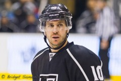 Mike Richards has seven goals in as many games for the Kings (Photo by Bridget Samuels).