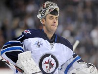 Ondrej Pavelec has a 1.33 GAA in the 3 game win streak (Dustin Bradford/Icon SMI)