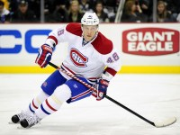 Former Montreal Canadiens Forward Andrei Kostitsyn (Jeanine Leech/Icon SMI)