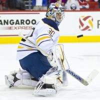 Buffalo Sabre Ryan Miller - Photo by Andy Martin Jr