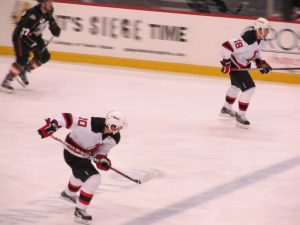 Jacob Josefson and Vladimir Zharkov, Albany Devils
