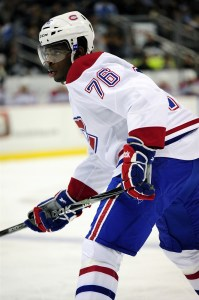 P.K. Subban Canadiens