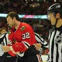 John Scott Blackhawks