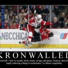"You have been ""Kronwalled"""