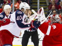 The Blue Jackets and Red Wings had their scuffles, but Penguins vs Blue Jackets is the future. (Rick Osentoski-US PRESSWIRE)