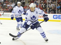 Mike Komisarek's days with the Maple Leafs are over (Rich Kane/Icon SMI)