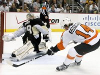 The Philadelphia Flyers are 10-2-1 since the doors opened at the Consol Energy Center.(Charles LeClaire-US PRESSWIRE)