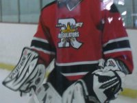 Kuusamo joined the SWYHL's Northwest Regulators in the fall of 2011.  He recorded a 3.41 GAA, a .901% save percentage and five shutouts in 33 games.  He was named MVP by both team management and by his teammates.  Kuusamo also helped his team win the SWYHL Midget AA championship.  (Photo courtesy of Jerry Simper)