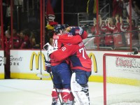Caps win 2-1 sending the series to a deciding Game 7 (Tom Turk/THW)
