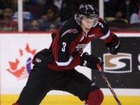 The Calgary Flames silky smooth super 2012 NHL draft savvy 4th round selection: Brett Kulak - Vancouver Giants