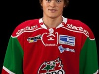 A defenceman for MODO's J20 team, Ludvig Byström is ranked eighth among European skaters for the 2012 NHL Entry Draft.  (Photo: MODOHockey.se)