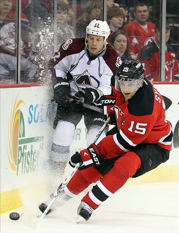 Peter Sykora signing with the Devils