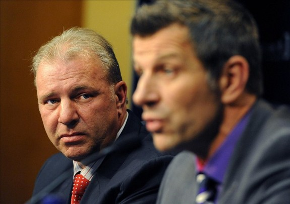 No time to fool around. For Habs GM Marc Bergevin and Head Coach Michel Therrien, the real work begins.(Eric Bolte-US PRESSWIRE)