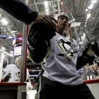 Jordan Staal was key in the Pens Stanley Cup victory. (James Guillory-US PRESSWIRE)