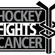 Hockey Fights Cancer Logo