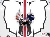 Flyers Forward Claude Giroux takes a faceoff against Eisbaren Berlin Forward Claude Giroux in NHL 13. (EA Sports)