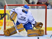 Spencer Martin will be on many teams' radar come late June. (Aaron Bell/OHL Images)