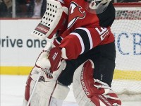Much like Brendan Burke, Anthony Brodeur will look to emulate his father as he seeks to be drafted on Sunday. (Ed Mulholland-US PRESSWIRE)