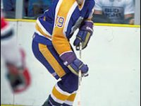 Jim Fox, during his playing days - gotta love the old style uniforms. Credit: HHOF