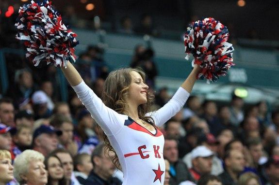 russian hockey cheerleaders