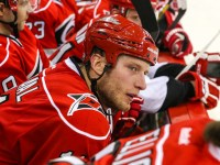 Carolina Hurricane Jordan Staal -  Mandatory Photo Credit: Andy Martin Jr