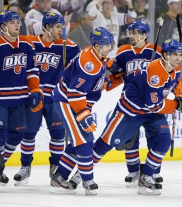 The Oilers PP has already been clicking in OKC this year (Steven Christy/OKC Barons)