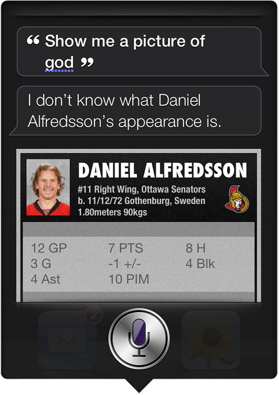 Siri - Alfredsson