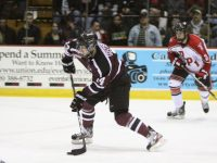 Is Gavin Bayreuther the Shayne Gostisbehere of the 2014 NHL Draft Class? (Photo: Marilyn Zube)