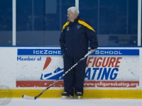 Ken Hitchcock answered questions from Blues fans on Tuesday (TSN Photography)