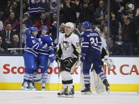 Tyler Bozak, Phil Kessel and James van Riemsdyk have been relied upon too heavily this season (John E. Sokolowski-USA TODAY Sports)