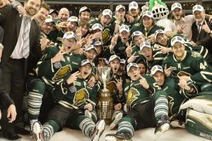 The London Knights won the OHL Robertson Cup in 2012 and 2013 (Terry Wilson/OHL Images)