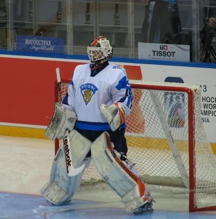 Juuse Saros is the top-ranked international goalie at this year's NHL Entry Draft. (Photo: Miika Arponen)