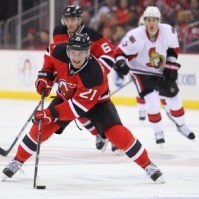 Andrei Loktionov excelled in limited minutes for the New Jersey Devils last season. (Ed Mulholland-USA TODAY Sports)