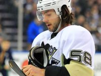 Kris Letang's stroke could be season ending, but isn't supposed to be career threatening. (Kevin Hoffman-USA TODAY Sports)