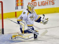 Should fantasy managers pick up Carter Hutton or Marek Mazanec? (Bruce Fedyck-USA TODAY Sports)