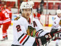 Duncan Keith find himself back in Norris Trophy contention with over 50 points on the season. - Photo Credit: Andy Martin Jr