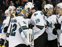 The Sharks completed their first Western Canada sweep in franchise history.  (Mandatory Credit: Perry Nelson-USA TODAY Sports)
