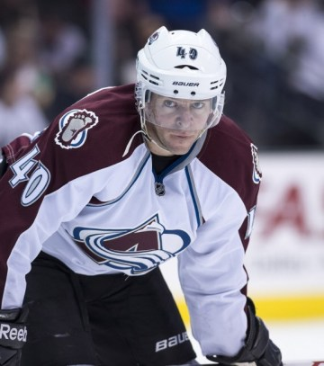 Alex Tanguay scored huge goals for the Avs in their six conference Finals appearances. (Jerome Miron-USA TODAY Sports)