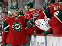 Mikael Granlund was certainly celebrating his fair share of points before he left to Sochi, and might be in line to celebrate many more after being Team Finland's leading offensive contributor. (Brace Hemmelgarn-USA TODAY Sports)