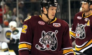 Jaskin ranks second on the Wolves with 17 points in 20 games
