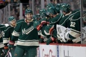 The Wild have clinched their second straight playoff spot. (Brace Hemmelgarn-USA TODAY Sports)