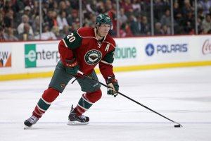 Chicago Blackhawks and Minnesota Wild Ryan Suter