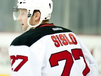 Mike Sislo of the Albany Devils  (James DiBianco/Flickr)