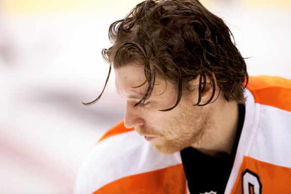 After a sluggish start to the season, Claude Giroux has the Flyers thinking playoffs.