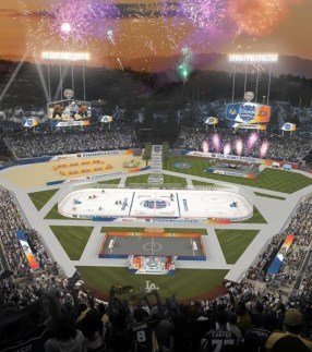 Dodger Stadium NHL