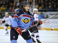 MacInnis is slated to go late in the first round (Aaron Bell/OHL Images)