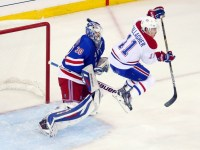 Brendan Gallagher is a gritty, small forward - but a game changer in front of the net. (Ed Mulholland-USA TODAY Sports)