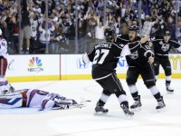 Alec Martinez could benefit from the fact that Slava Voynov won't be on the ice for the Kings for the foreseeable future. (Gary A. Vasquez-USA TODAY Sports)