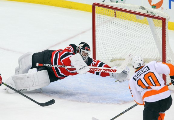 Brayden Schenn certainly hopes to see the Devils the Flyers know. Both of his goals against New Jersey were game-winners.